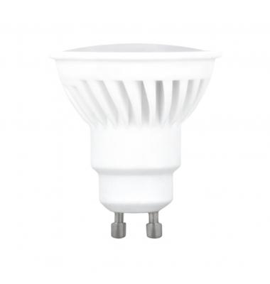 Bombilla LED GU10 10W. Fabricado en Cerámica. Ángulo 120º. Blanco Natural - 4500k