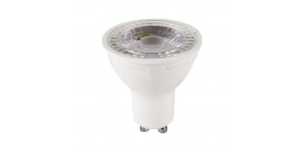 Bombilla LED GU10, Regulable, 8W, 6400k, Blanco Frío, Ángulo 60º