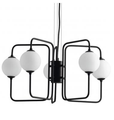 Lámpara de Suspensión NEUTRON 5 luces de la marca Luce Ambiente Design. 5*G9. Diámetro 570mm