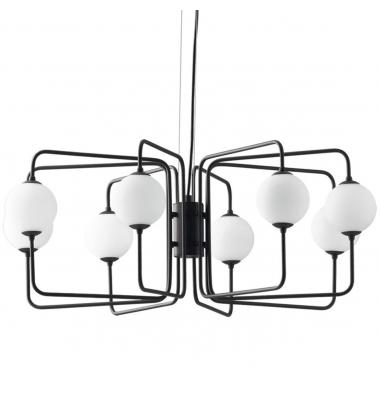 Lámpara de Suspensión NEUTRON 8 luces de la marca Luce Ambiente Design. 8*G9. Diámetro 770mm