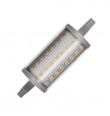 Bombilla LED R7s 7W 78mm. Regulable. 1000 Lm. Ángulo 300º - 6000k