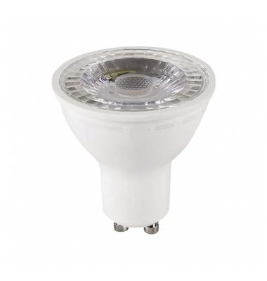 Bombilla LED Regulable GU10 7W. 3000k - Blanco Cálido. Ángulo 38º