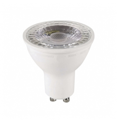 Bombilla LED Regulable GU10 7W. 4000k - Blanco Natural. Ángulo 38º