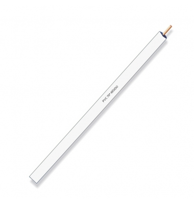 Cable unipolar PVC rigido 1x0.75 Blanco