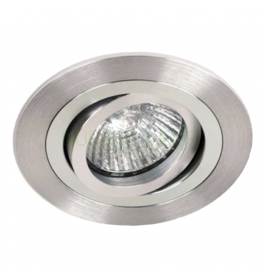 Foco Empotrable Full. Basculante. Para Bombilla LED GU10 y MR16