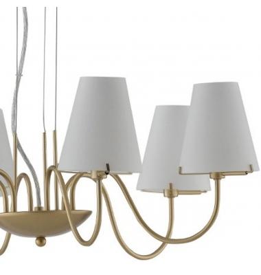 Lámpara de Suspensión CANTO 6 luces de la marca Luce Ambiente Design. 6*G9. Diámetro 656mm
