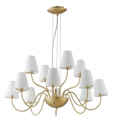 Lámpara de Suspensión CANTO 12 luces de la marca Luce Ambiente Design. 12*G9. Diámetro 830mm