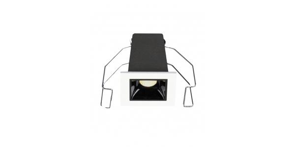 Foco Empotrar LED Inline 2W. Mini Kardan. LED Citizen. Blanco Cálido. Ángulo 30º