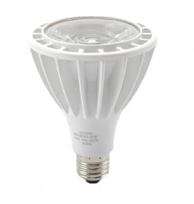 Bombilla LED E27. PAR30, 24W, 3000k, Blanco Cálido, Ángulo 60º