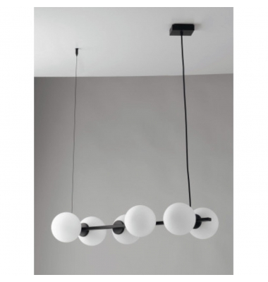 Lámpara de Suspensión ENOIRE de la marca Luce Ambiente Design. 6*E14. 800*317*1200mm