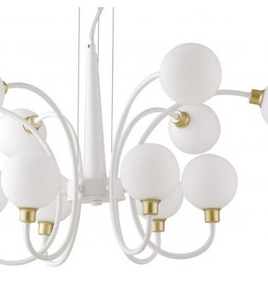 Lámpara de Suspensión AIDA 12 luces de la marca Luce Ambiente Design. 12*G9. Diámetro 790mm