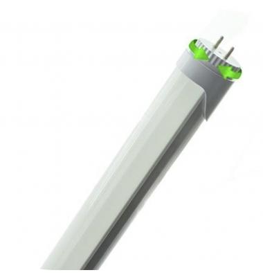 Tubo LED T8 Aluminio 600 mm. Cabezal Rotatorio. 9W-900 lm. Conexión 2 laterales. Blanco Cálido