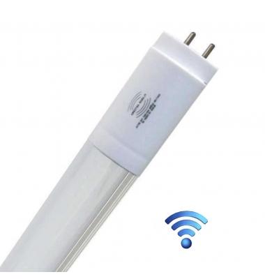 Tubo LED T8 Con Sensor Radar de Presencia. Aluminio 1200 mm. 18W-1800 lm. Conexión dos Laterales. Blanco Frío