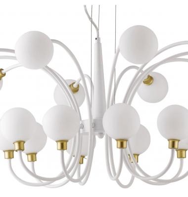 Lámpara de Suspensión AIDA 20 luces de la marca Luce Ambiente Design. 20*G9. Diámetro 960mm