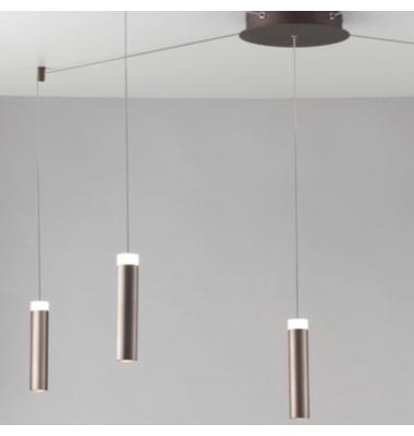 Lámpara de suspensión CANDLE PL5 de la marca Luce Ambiente Design. D220*4000mm. 35W. 4000K