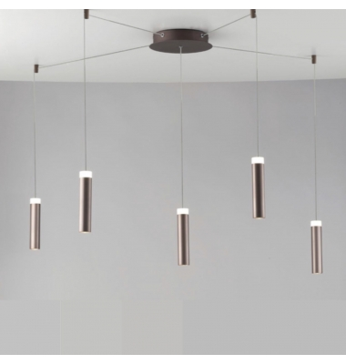 Lámpara de suspensión CANDLE de la marca Luce Ambiente Design. D220*4000mm. 35W. 4000K