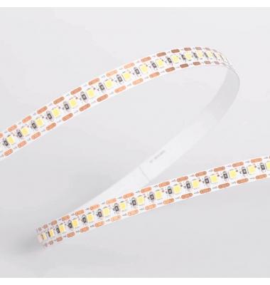 Tira LED Monocolor 18W/m. 12V, SMD2835, 95lm/w. 124 LEDs/m. Interior, IP20, Carrete 2.5 metros