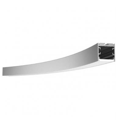 Perfil Arco de 45º. Emisión Luz Exterior Vertical. Longitud 602.5mm