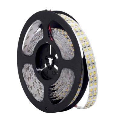 Tira Flexible LED 19.2W/m. Perfiles Curvos y Rectos. Carrete 4.7 metros, IP20