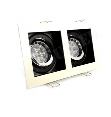Foco Empotrar LED Interior CDN 2 luces
