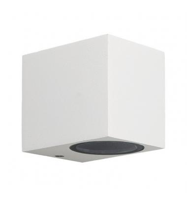 Aplique LED de Pared Fort, IP54, Exterior, Blanco, 1xGU10