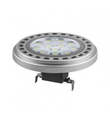 Bombilla LED AR111, 15W, 12V, Blanco Cálido, 2700k, Ángulo 30º. Base G53