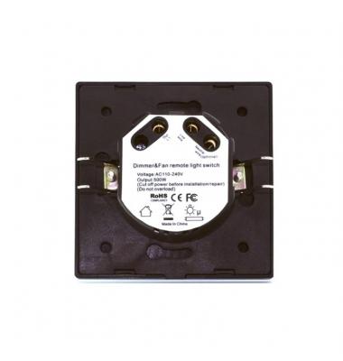Regulador Táctil de Pared, Blanco, 110-204V, 500W
