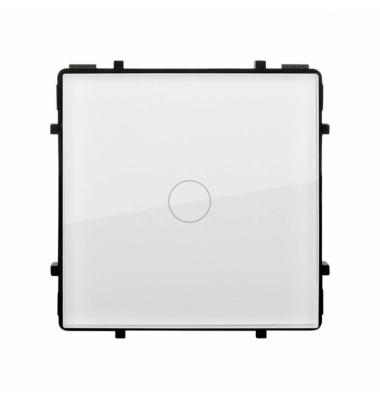 Interruptor Conmutado Regulador Táctil de Pulsación, Blanco, 100-240V, 200W