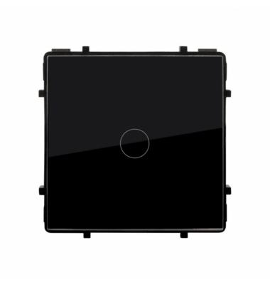 Interruptor Conmutado Regulador Táctil de Pulsación, Negro, 100-240V, 200W