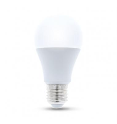 Bombilla LED E27 A60 Estándar 8W. 3000k, Blanco Cálido. Ángulo 220º