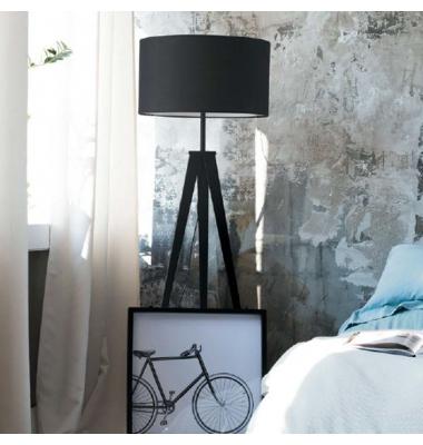 Lámpara de Pie Interior IBIS. Luce Ambiente Design. Ø500mm*280mm*1600mm. 1*E27