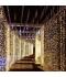 Cortina Luminosa 18W . 3 x 3 metro. Luz cálida. 300 LEDs