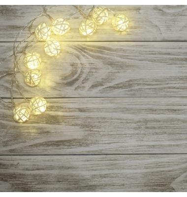 Guirnalda luz Navidad 2W. Luz Fría. 20 Nidos LEDs