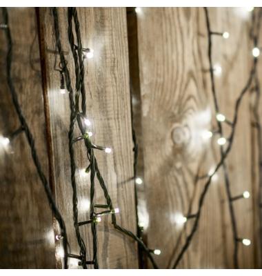 Guirnalda Luminosa 9,4 m. Luz blanca. 100 LEDs. 8 funciones