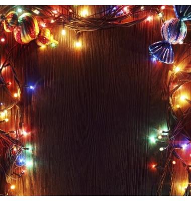 Guirnalda Luminosa 9,4 m. RGB . 100 LEDs. 8 funciones
