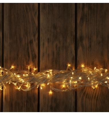 Guirnalda Luces led de 9,4 m. Luz cálida. 100 LEDs. 8 funciones