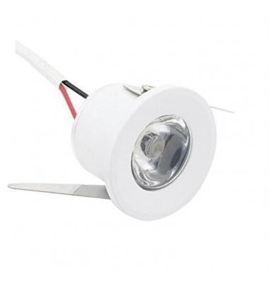 Foco Empotrar LED Waker II, 1W, IP20, Ángulo 40º, Blanco Natural, 4000k