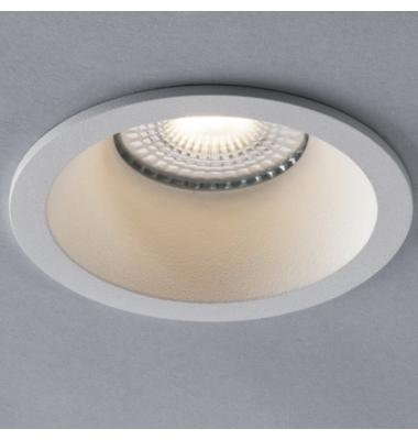 Foco Empotrable Ayris, Aluminio, Blanco Mate, Para Bombillas LED GU10 y MR16