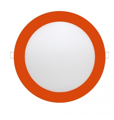 Panel Downlight LED Redondo Colores Bid 12W. Ángulo 120º