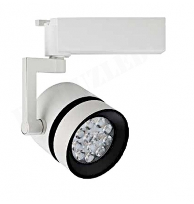 Foco Carril LED 24W Aon. Blanco Mate. LED Philips. 1780 Lm. Ángulo 40º. Blanco Natural