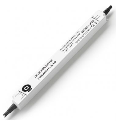 Fuente Alimentación 132W-12V. IP66. Uso Exterior. Factor Potencia 0.95. 3 años garantía