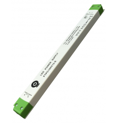 Fuente Alimentación 100W-12V. IP20. Uso Interior. Factor Potencia 0.95. 3 años garantía