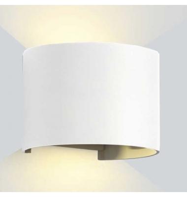 Aplique LED de Pared Nube, 6W, Blanco Mate. Blanco Cálido, IP54