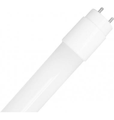 Tubo LED T8 Nano PC 1200 mm 18W-1650 lm. Conexión Dos laterales. Blanco Frío de 6000k. Ángulo 360º