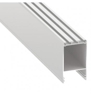 Perfil Aluminio Infinity. Para Colgantes . Hasta 3 Tiras LED. 1 Metro