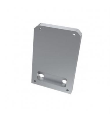 Tapas laterales de cierre, En Aluminio, Perfil Infinity, Sin agujero
