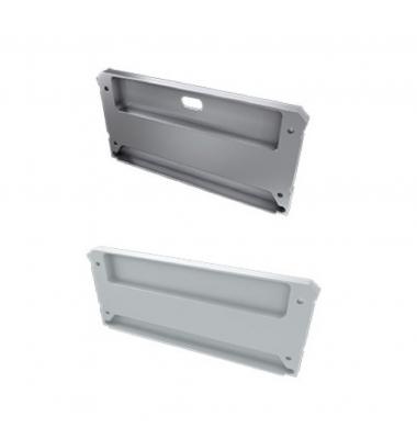 Tapas laterales de cierre, En Aluminio, Perfil Ideo
