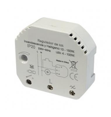 Regulador LED Pastilla para Mecanismo por Pulsación