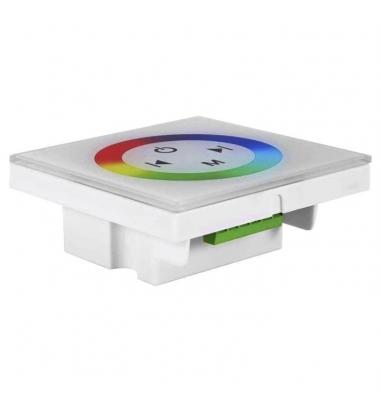 Controlador Táctil RGB de Pared. 12V-144W / 24V-288W