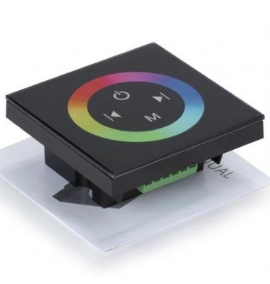 Controlador Táctil RGB de Pared 12V-216W / 24V-432W